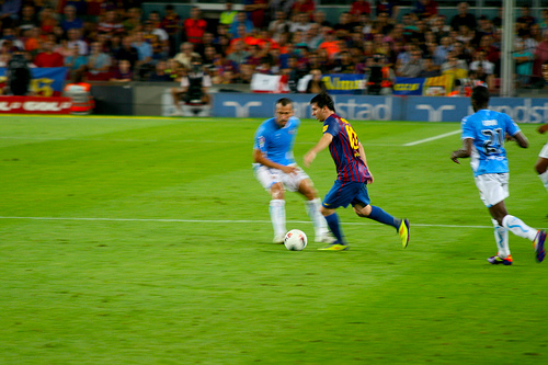 Will Lionel Messi be distracted by rumours about his future? Picture by jeroen_bennink.