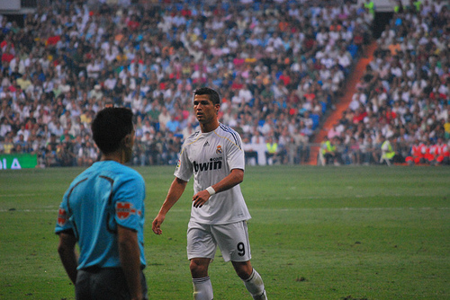Real Madrid superstar Cristiano Ronaldo. Picture by Jan S0L0.