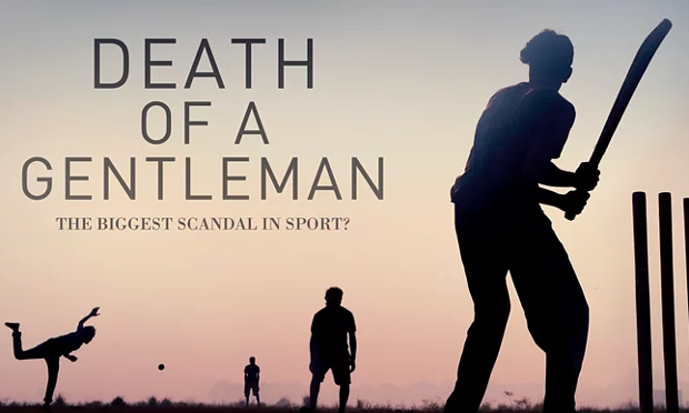death of a gentleman cricket