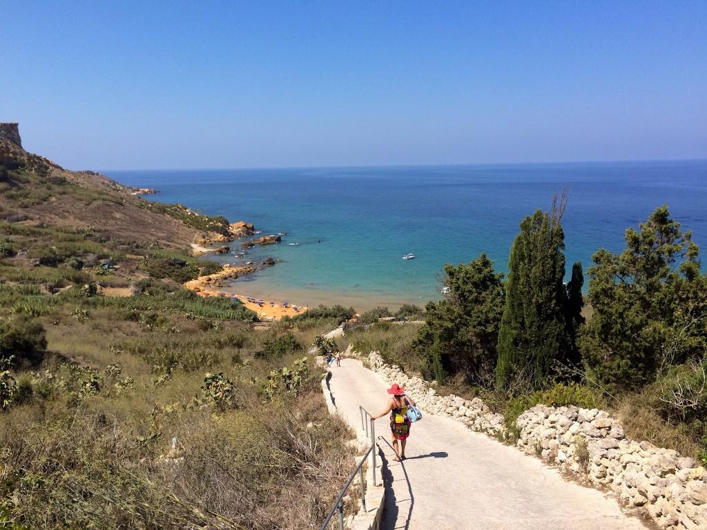 Gozo - San Blass Beach - Photo Raiomond Mirza