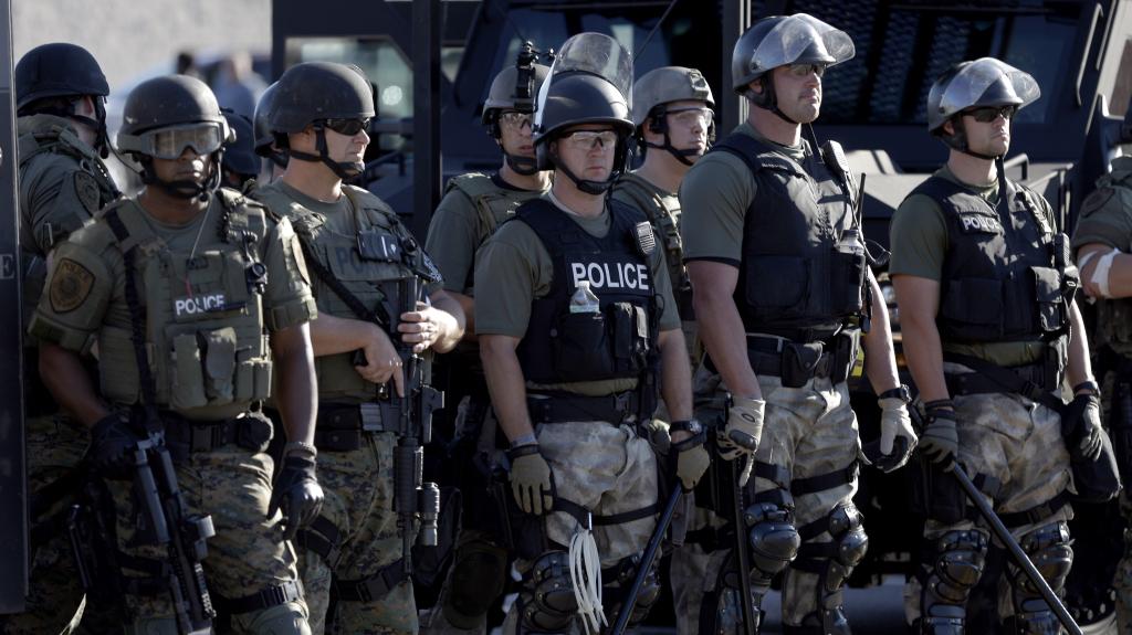 Police ferguson