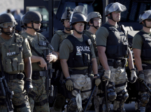 US Police Actions In Ferguson Signify Lack Of Human Rights