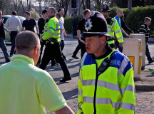Football hooligans is one of the largest and most time consuming problems the police have to face.