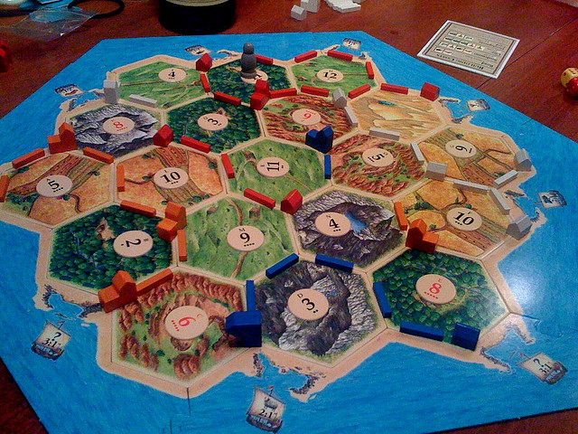 settlers of catan christmas